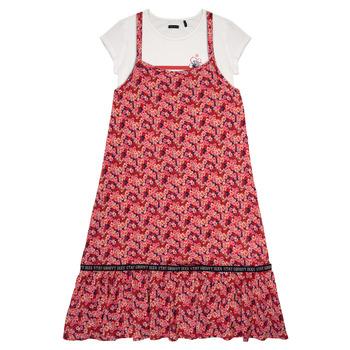 Textiel Meisjes Korte jurken Ikks DANIA Multicolour