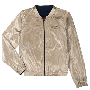 Textiel Meisjes Wind jackets Ikks BEATRICE Marine / Goud