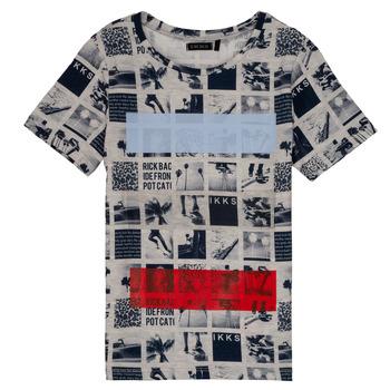 Textiel Jongens T-shirts korte mouwen Ikks JULIEN Beige