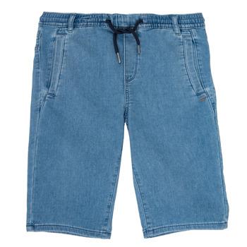 Textiel Jongens Korte broeken / Bermuda's Ikks PAGALI Blauw