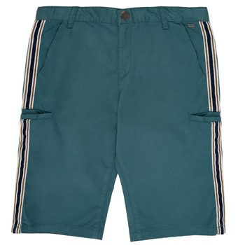 Textiel Jongens Korte broeken / Bermuda's Ikks MANUELA Blauw / Groen