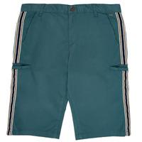 Textiel Jongens Korte broeken / Bermuda's Ikks MANUEL Blauw / Groen