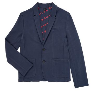 Textiel Jongens Jasjes / Blazers Ikks NARIA Marine