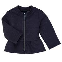 Textiel Meisjes Vesten / Cardigans Ikks ANE Marine