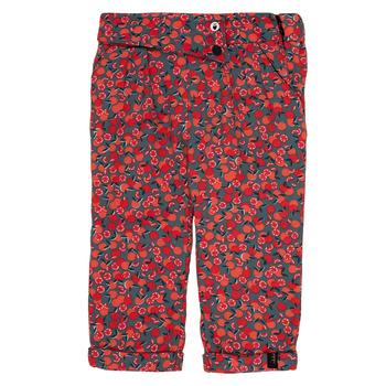 Textiel Meisjes Leggings Ikks MARGA Grijs / Rood