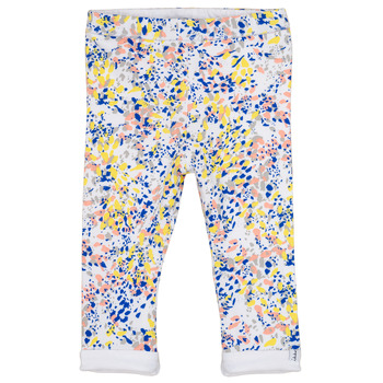 Textiel Meisjes Leggings Ikks ELIES Wit / Multicolour
