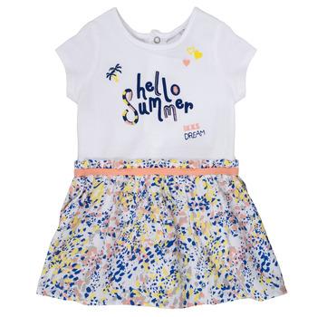 Textiel Meisjes Korte jurken Ikks NIKLO Wit