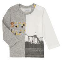 Textiel Jongens T-shirts met lange mouwen Ikks MAELINO Grijs