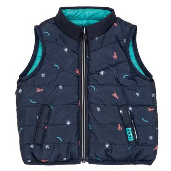 Textiel Jongens Dons gevoerde jassen Ikks ADRIANA Turquoise