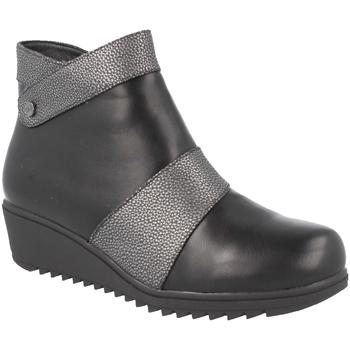 Schoenen Dames Enkellaarzen Clowse 9B1023 Negro