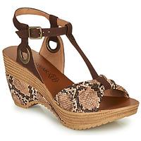 Schoenen Dames Sandalen / Open schoenen Chattawak JENNY Python