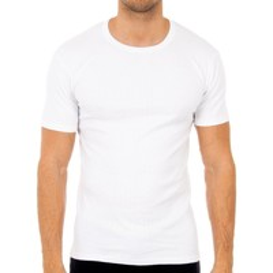 Ondergoed Heren Hemden Abanderado Pack-3 t-shirts m / c hiver blanc Wit