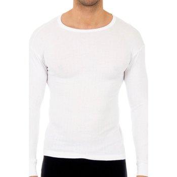 Ondergoed Heren Hemden Abanderado Lot de 3 t-shirts longs en coton Wit
