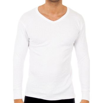 Ondergoed Heren Hemden Abanderado Pack-3 t-shirts quelque chose. col en V Wit