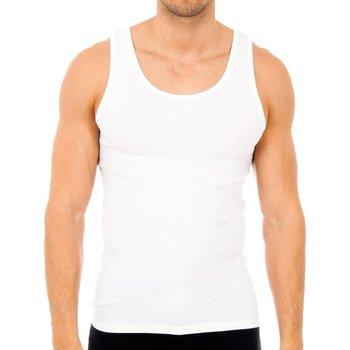 Ondergoed Heren Hemden Abanderado Pack-6 débardeurs homme Wit