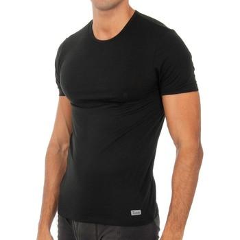 Ondergoed Heren Hemden Abanderado T-shirt technique à court terme Zwart