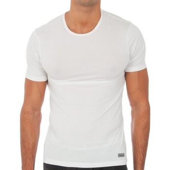 Ondergoed Heren Hemden Abanderado T-shirt technique à court terme Wit