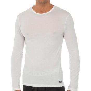 Ondergoed Heren Hemden Abanderado T-shirt technique à long terme Wit