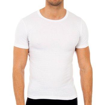 Ondergoed Heren Hemden Abanderado Pack-3 t-shirts en fibre m / c blanc Wit