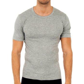 Ondergoed Heren Hemden Abanderado Pack-3 t-shirts en fibre grise M / C Grijs