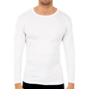 Ondergoed Heren Hemden Abanderado Pack-3 t-shirts en fibre M / L blanc Wit