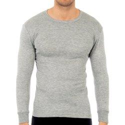Ondergoed Heren Hemden Abanderado Pack-3 t-shirts en fibre grise M / L Grijs