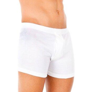 Ondergoed Heren Boxershorts Abanderado Pack-3 boxeurs thermiques Wit