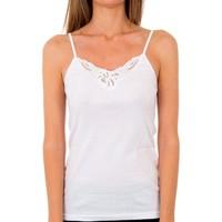 Ondergoed Dames Hemden Abanderado Pack-3 Couvre mrs.pr. trt milan blanc Wit