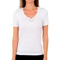 Ondergoed Dames Hemden Abanderado Pack-3 Couvre pr.m / c milan blanc Wit