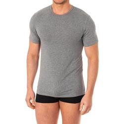 Ondergoed Heren Hemden Abanderado T-shirt X-Temp m / court Grijs