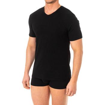 Ondergoed Heren Hemden Abanderado T-shirt X-Temp m / court Zwart