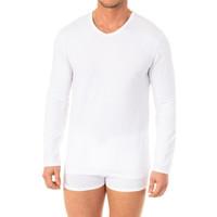 Ondergoed Heren Hemden Abanderado T-shirt X-Temp m / long Wit
