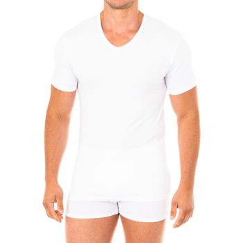 Ondergoed Heren Hemden Abanderado T-shirt à manches courtes Advanced Wit