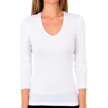 Ondergoed Dames Hemden Abanderado Pack 3 t-shirt sra m / l thermique Wit