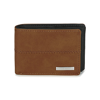 Tassen Portefeuilles Quiksilver NEW STITCHY WALLET Brown