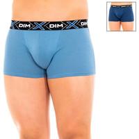 Ondergoed Heren Boxershorts DIM Pack-2 Loi Box.Thermoregulation. Blauw