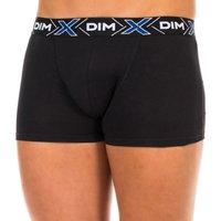 Ondergoed Heren Boxershorts DIM Pack-2 Loi sur Box.Thermoregulation. Zwart