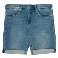 Textiel Jongens Korte broeken / Bermuda's Teddy Smith SCOTTY 3 Blauw