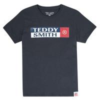 Textiel Jongens T-shirts korte mouwen Teddy Smith TOZO Marine