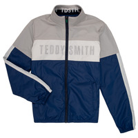 Textiel Jongens Wind jackets Teddy Smith HERMAN Grijs / Marine