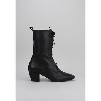 Schoenen Dames Enkellaarzen Krack  Zwart