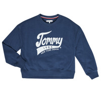 Textiel Meisjes Sweaters / Sweatshirts Tommy Hilfiger KG0KG04955 Marine