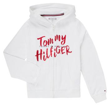 Textiel Meisjes Korte jurken Tommy Hilfiger KG0KG05094 Wit