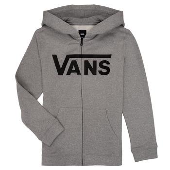 Textiel Jongens Sweaters / Sweatshirts Vans BY VANS CLASSIC ZIP HOODIE Grijs