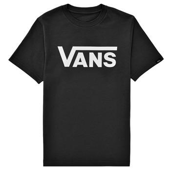 Textiel Kinderen T-shirts korte mouwen Vans BY VANS CLASSIC Zwart