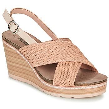 Schoenen Dames Sandalen / Open schoenen Refresh NANI Nude