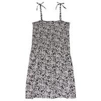 Textiel Meisjes Korte jurken Le Temps des Cerises PUNTA Zwart / Wit