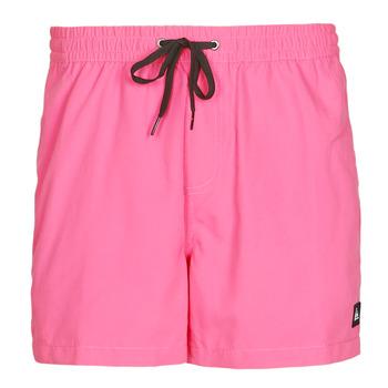 Textiel Heren Zwembroeken/ Zwemshorts Quiksilver EVERYDAY VOLLEY Roze