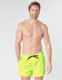 Textiel Heren Zwembroeken/ Zwemshorts Quiksilver EVERYDAY VOLLEY Geel