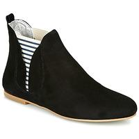 Schoenen Dames Laarzen Ippon Vintage PATCH FLYBOAT Zwart